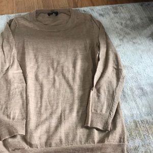 J crew camel tippi sweater like new